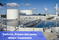 Proses Pengolahan water treatment di Indonesia