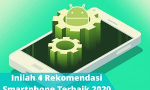 Inilah 4 Rekomendasi Smartphone Terbaik 2020