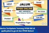 Berita TerUpdate Tentang PPDB DKI di ppdb.jakarta.go.id dan PPDB Bekasi